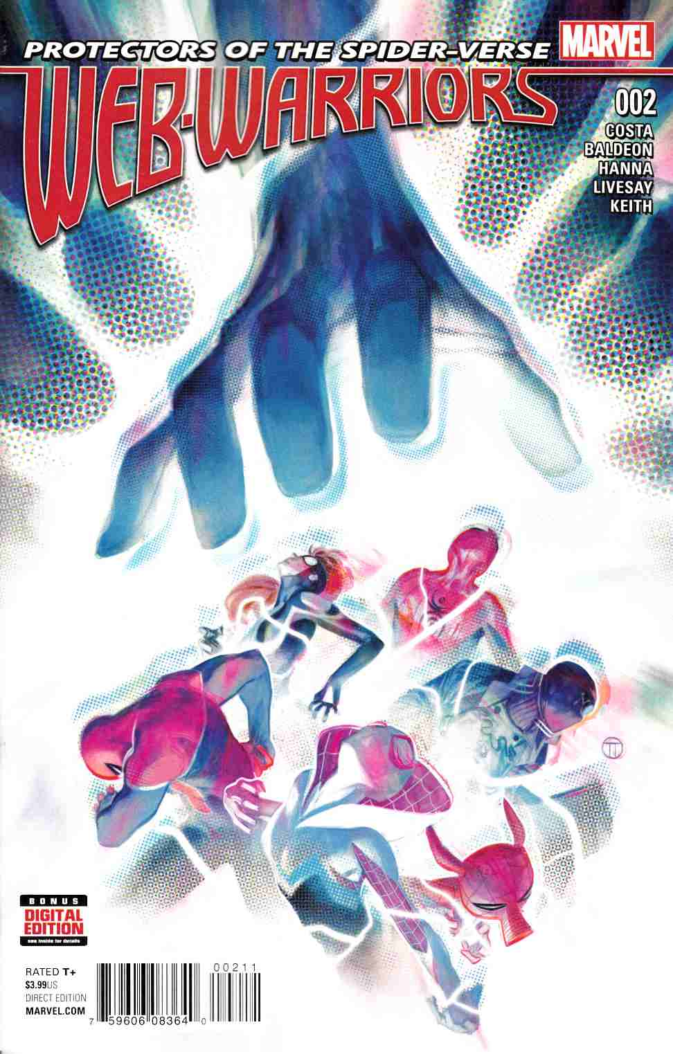 Web Warriors #2 [Marvel Comic] LARGE