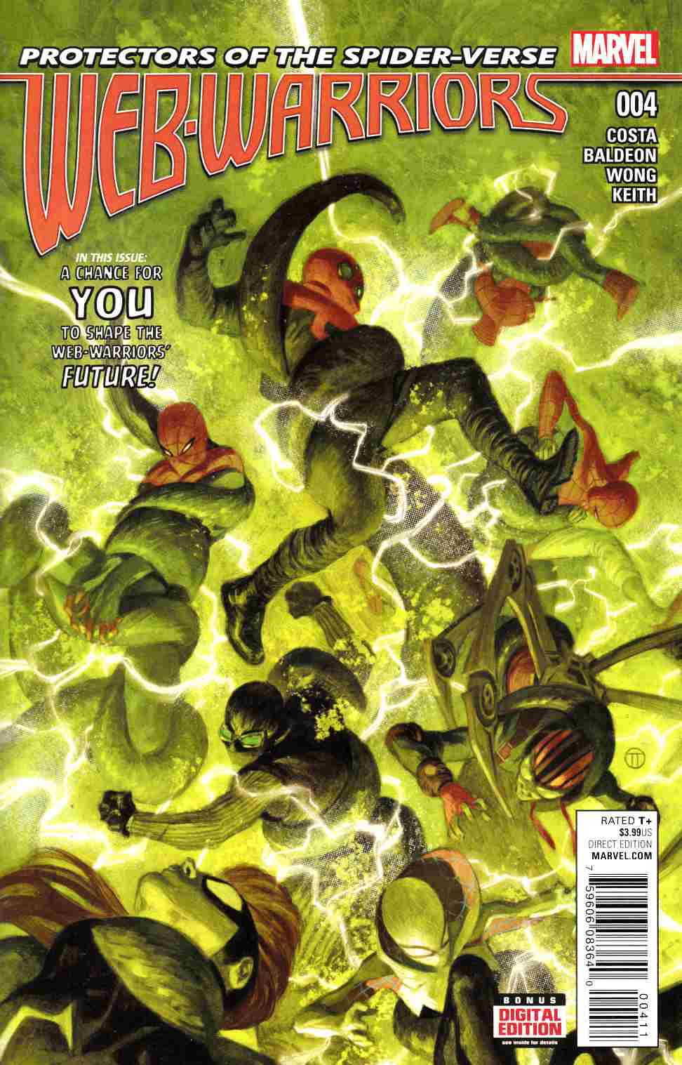 Web Warriors #4 [Marvel Comic] THUMBNAIL