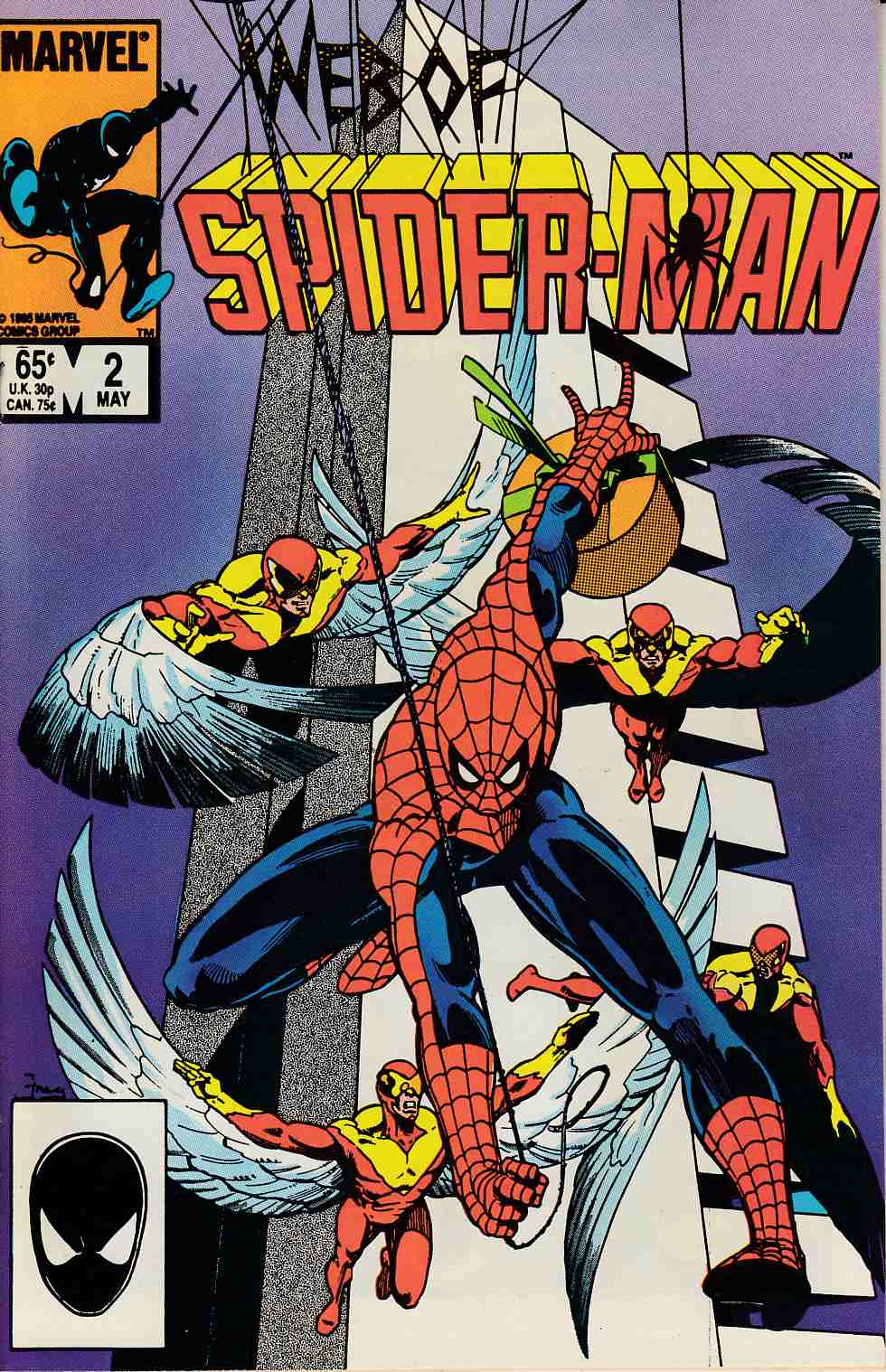 Web of Spider-Man #2 Near Mint (9.4) [Marvel Comic] LARGE