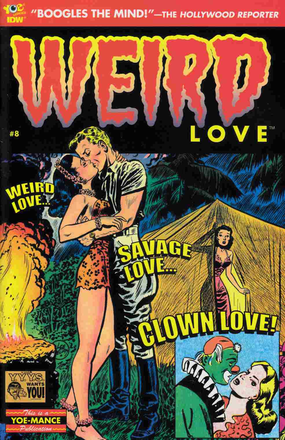 Weird Love #8 [IDW Comic] LARGE