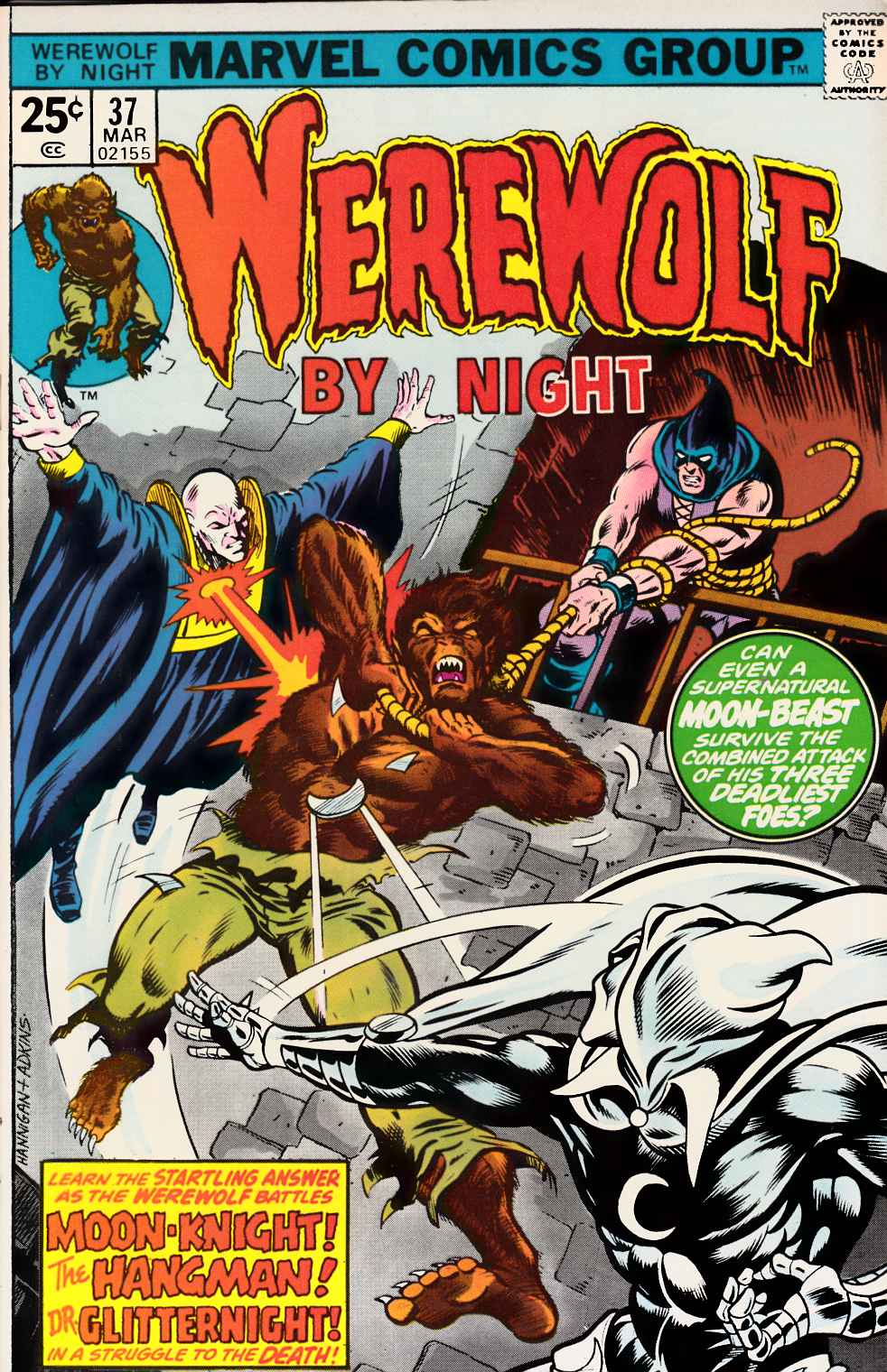 Werewolf By Night #37 Fine (6.0) [Marvel Comic]