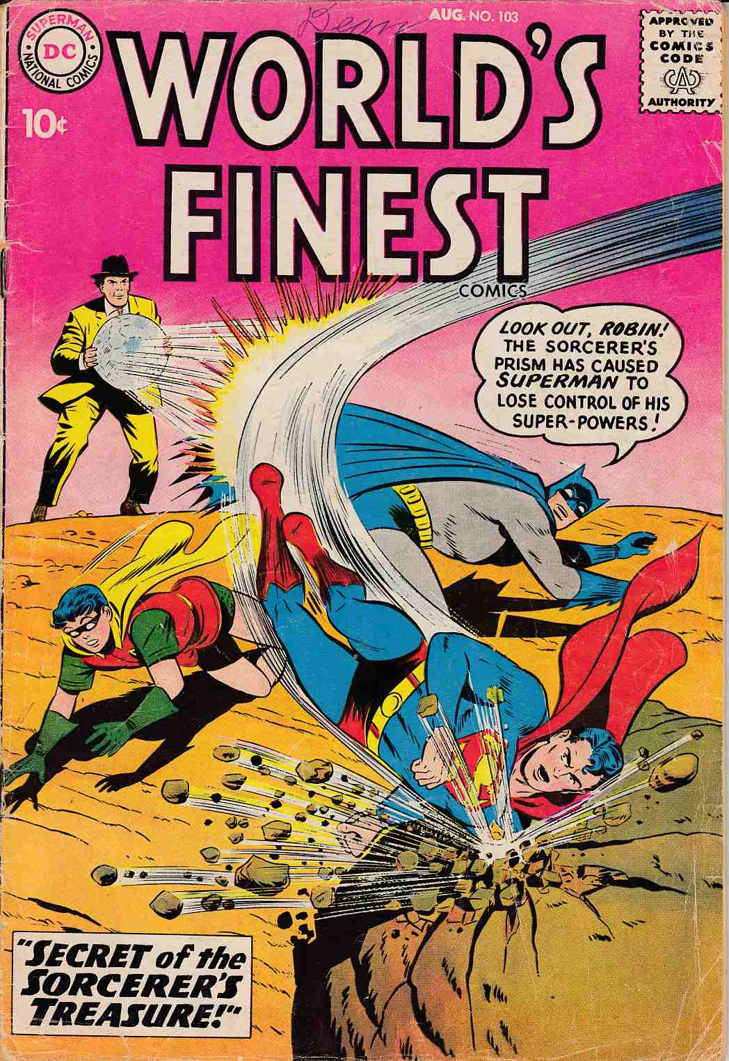 Worlds Finest #103 Good/Very Good (3.0) [DC Comic] THUMBNAIL