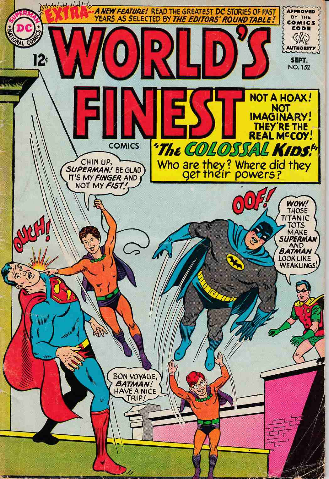 Worlds Finest #152 Very Good Minus (3.5) [DC Comic] THUMBNAIL