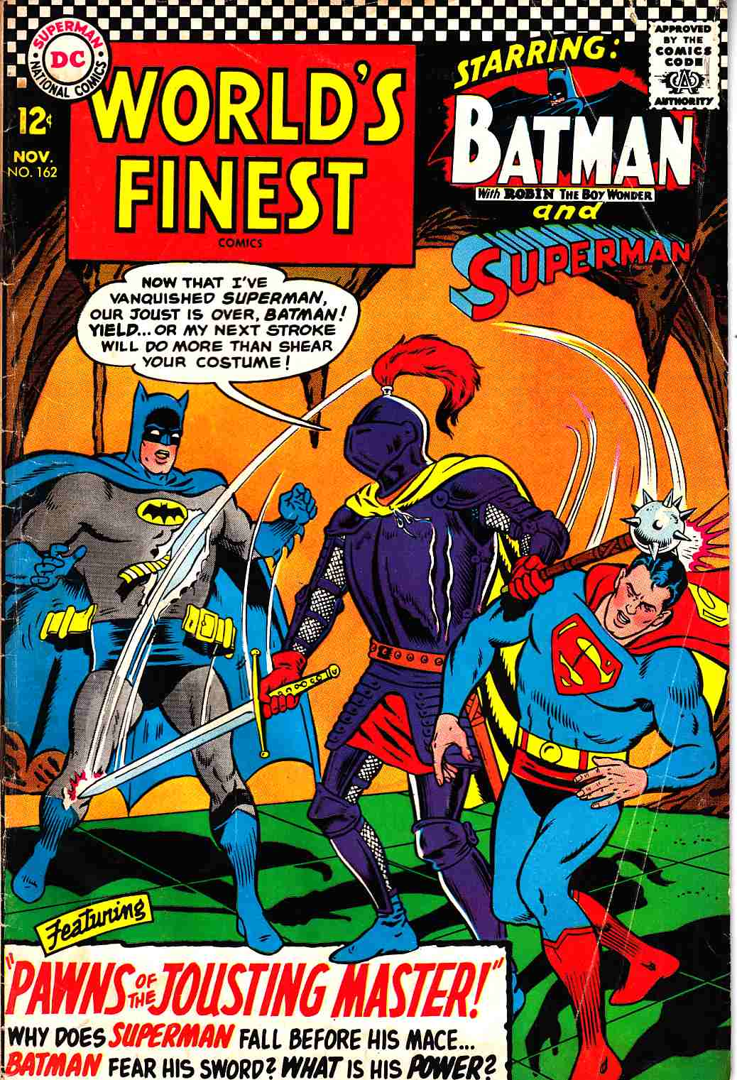 Worlds Finest #162 Fair (1.0) [DC Comic] THUMBNAIL