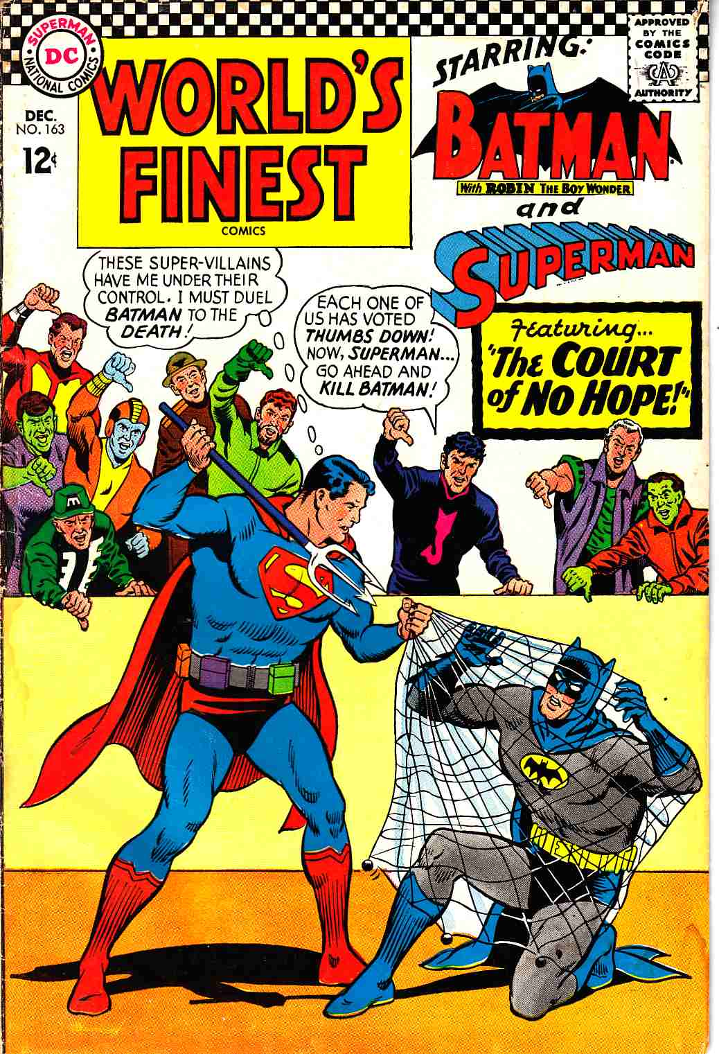 Worlds Finest #163 Fair (1.0) [DC Comic] THUMBNAIL
