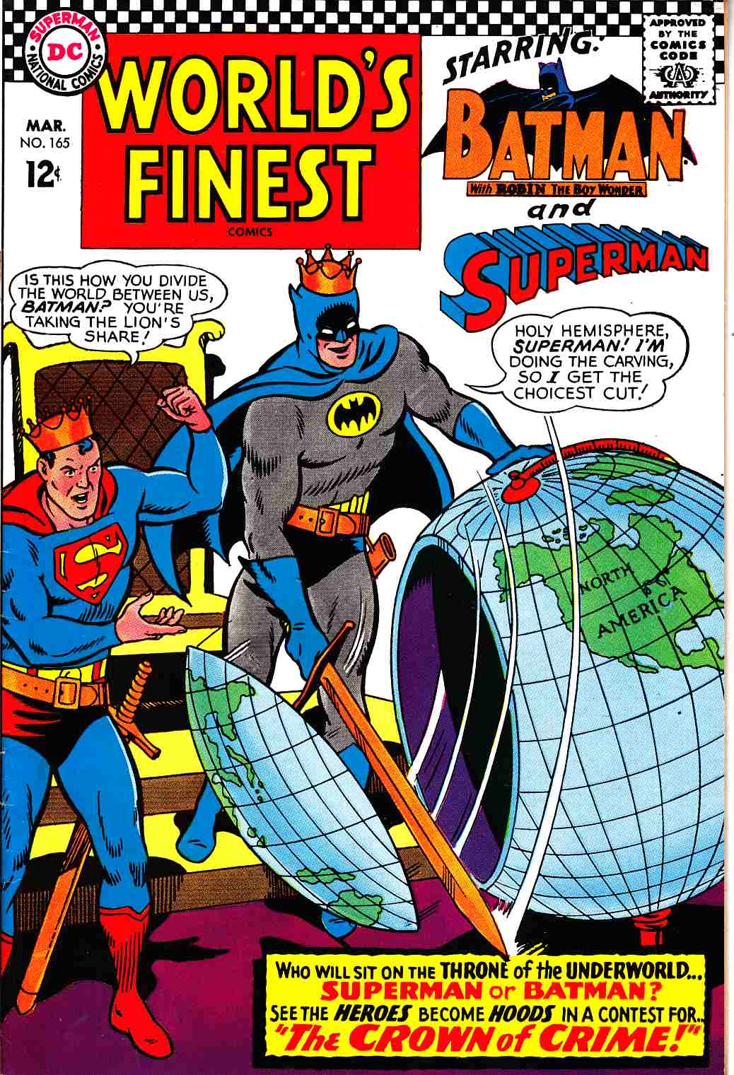 Worlds Finest #165 Very Fine (8.0) [DC Comic] THUMBNAIL