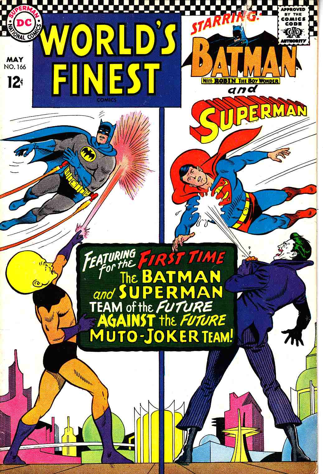 Worlds Finest #166 Fine/Very Fine (7.0) [DC Comic] THUMBNAIL