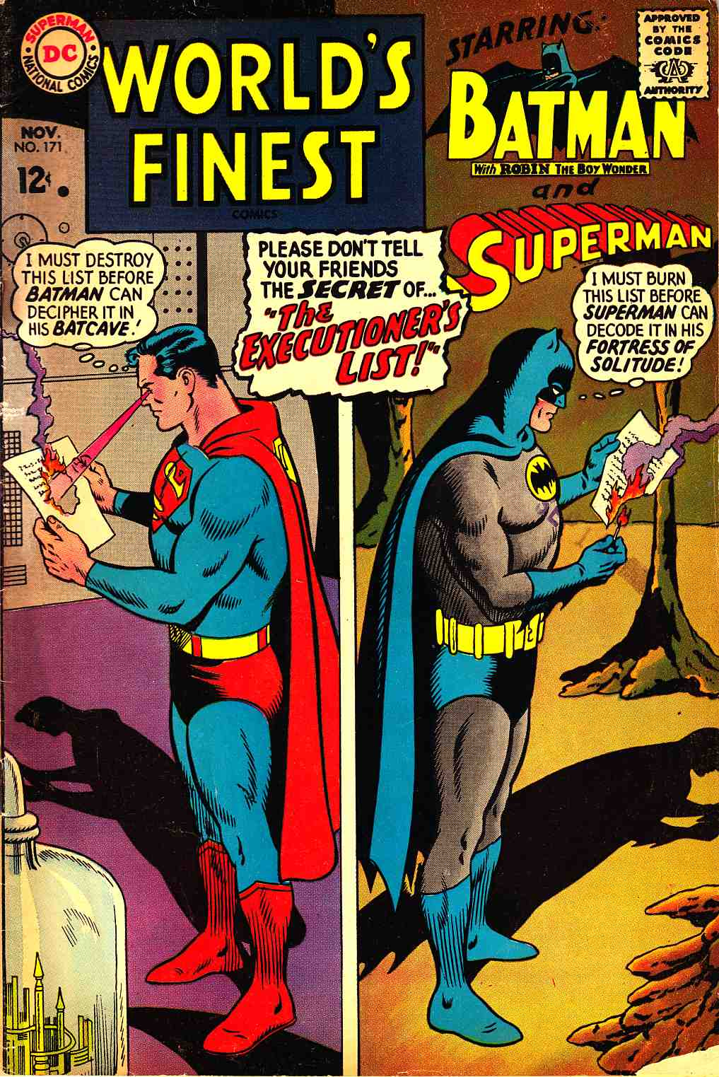 Worlds Finest #171 Good (2.0) [DC Comic] THUMBNAIL