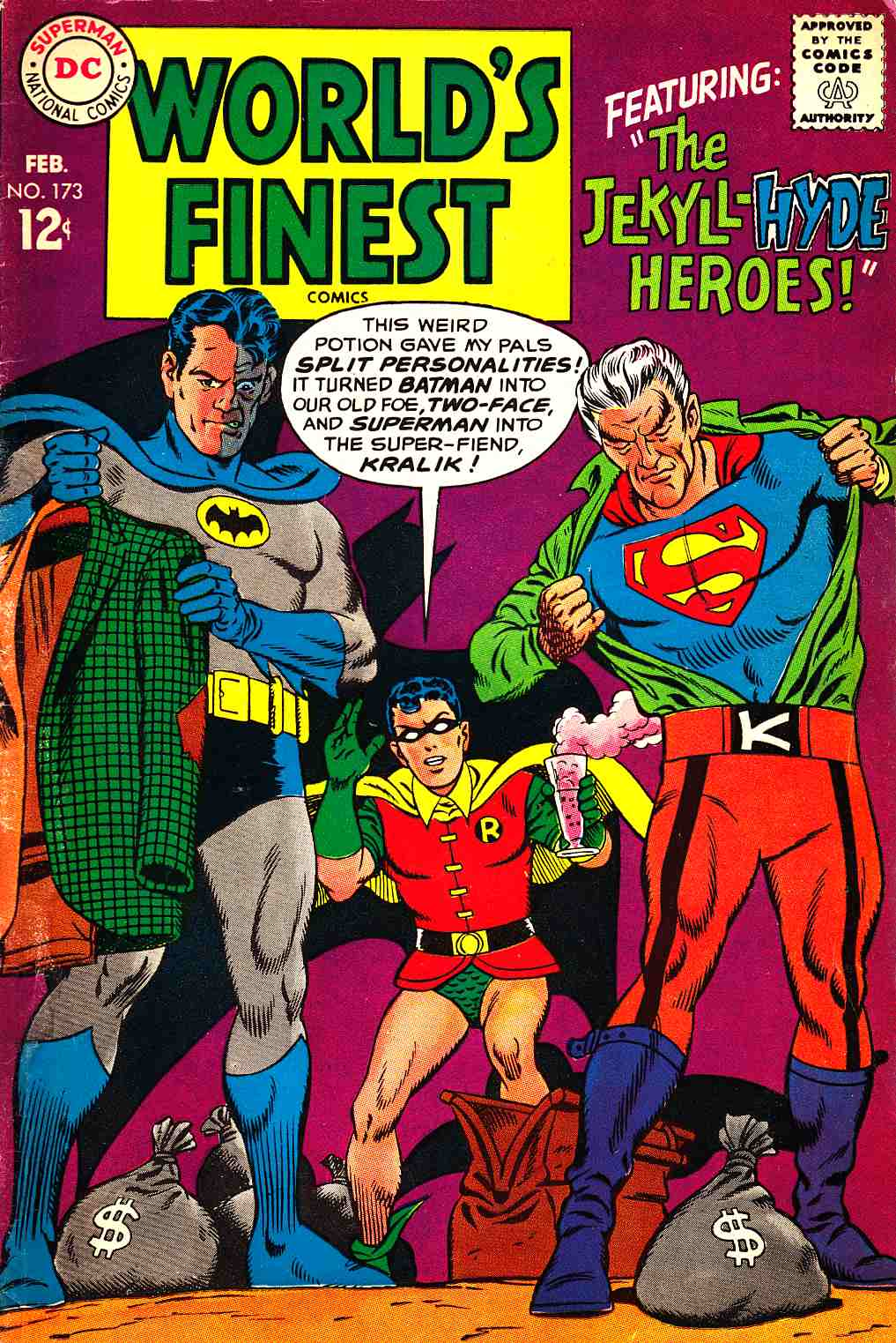 Worlds Finest #173 Good (2.0) [DC Comic] THUMBNAIL