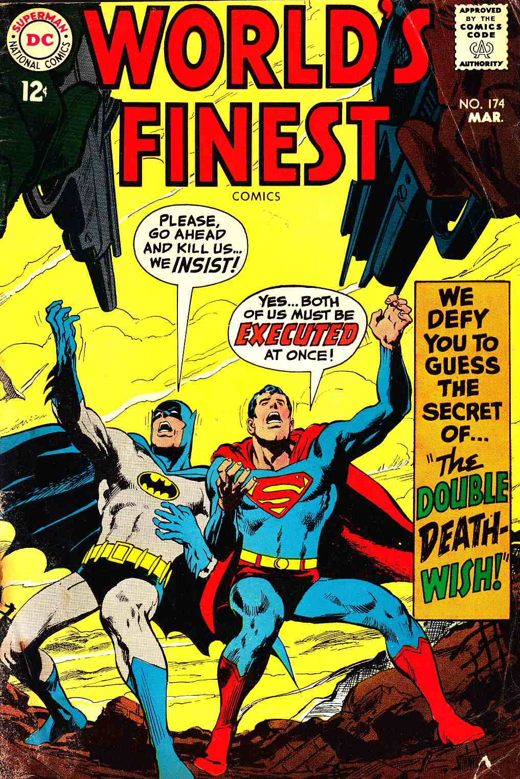Worlds Finest #174 Good Minus (1.8) [DC Comic] THUMBNAIL