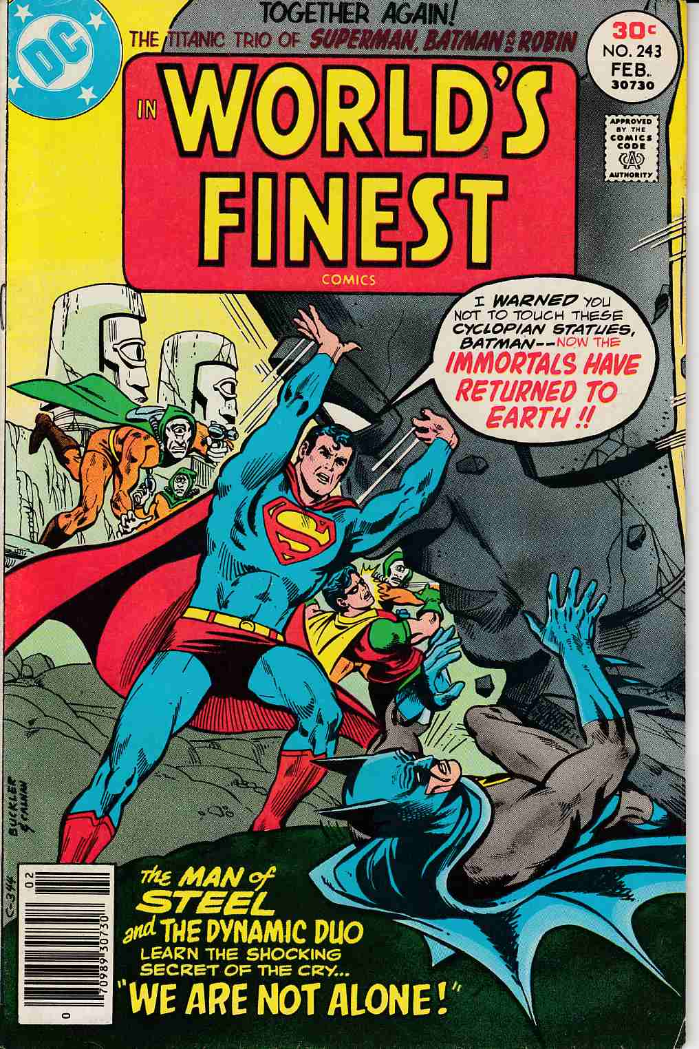 Worlds Finest #243 Fine (6.0) [DC Comic] LARGE