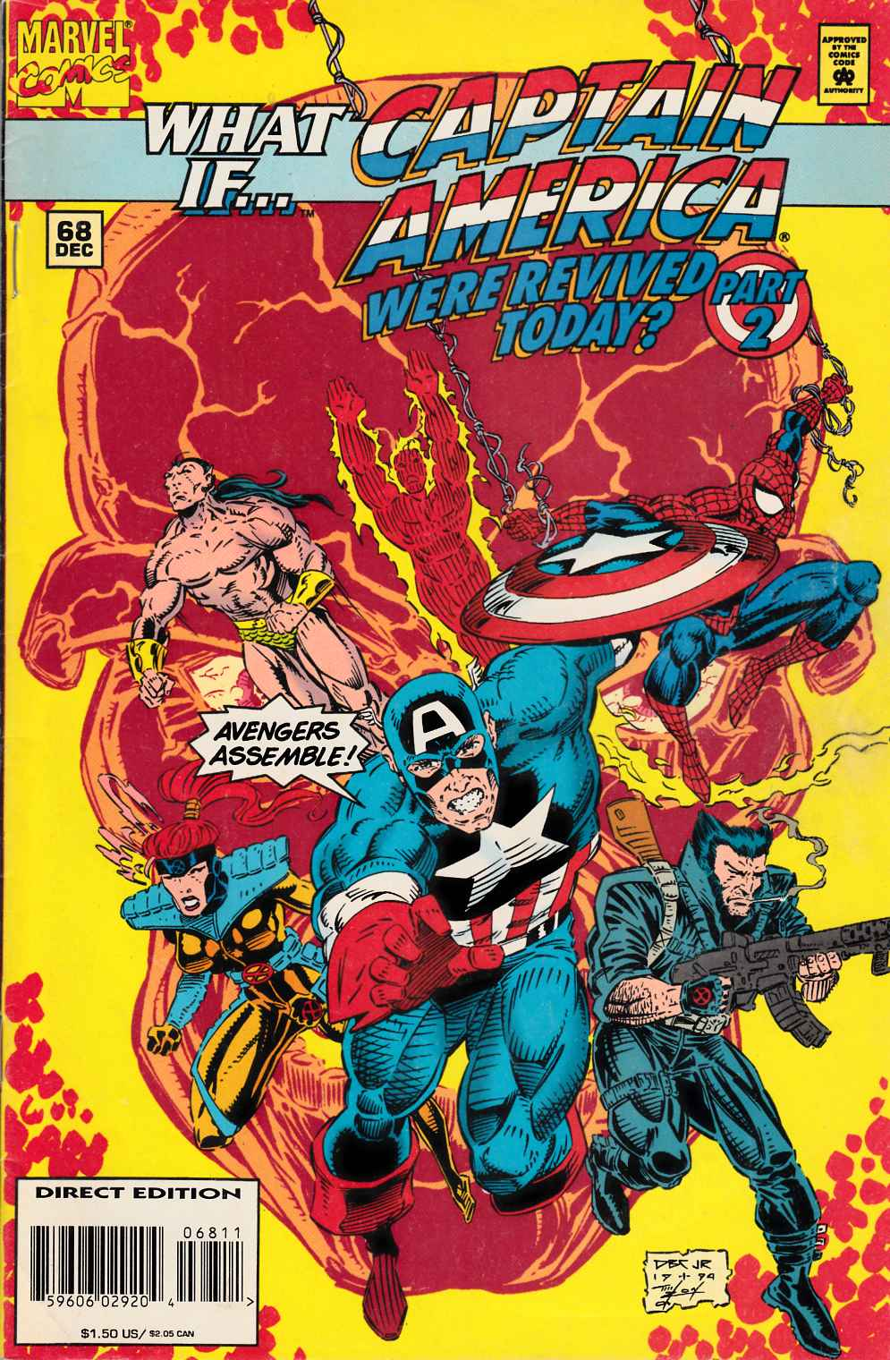 What If #68 Good (2.0) [Marvel Comic] LARGE