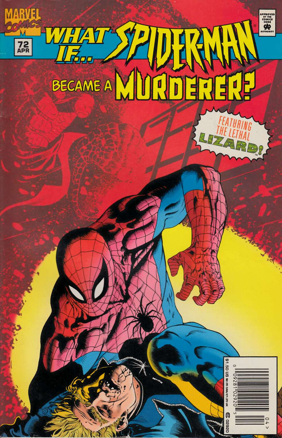 What If #72 Newsstand Edition Fine (6.0) [Marvel Comic] THUMBNAIL