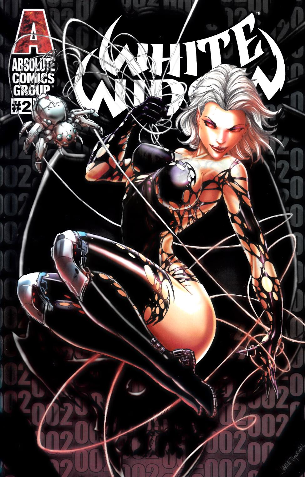 White Widow #2 Lenticular Homage Variant Cover Near Mint (9.4) [Absolute Comic] THUMBNAIL