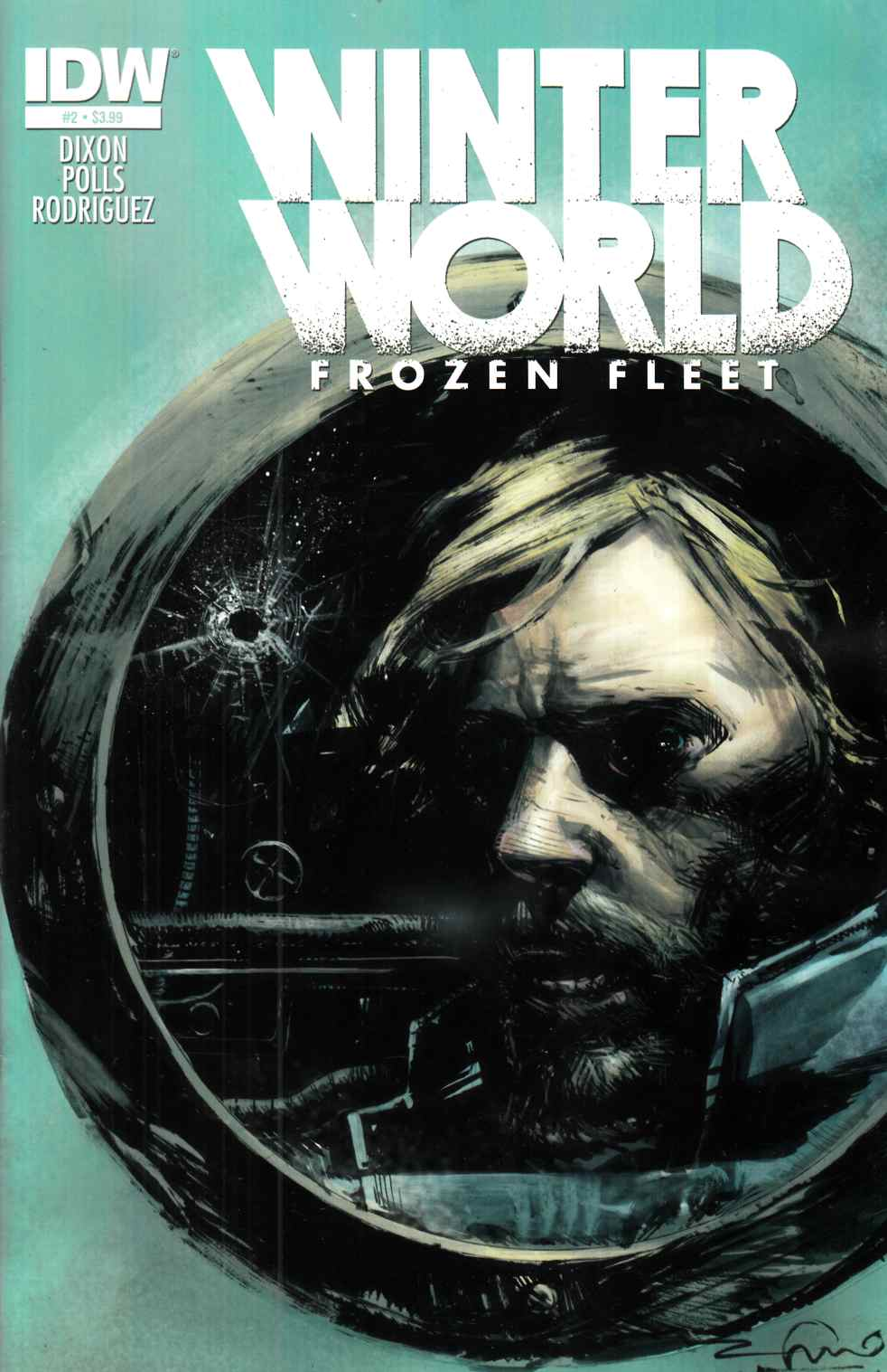 Winterworld Frozen Fleet #2 [IDW Comic] THUMBNAIL