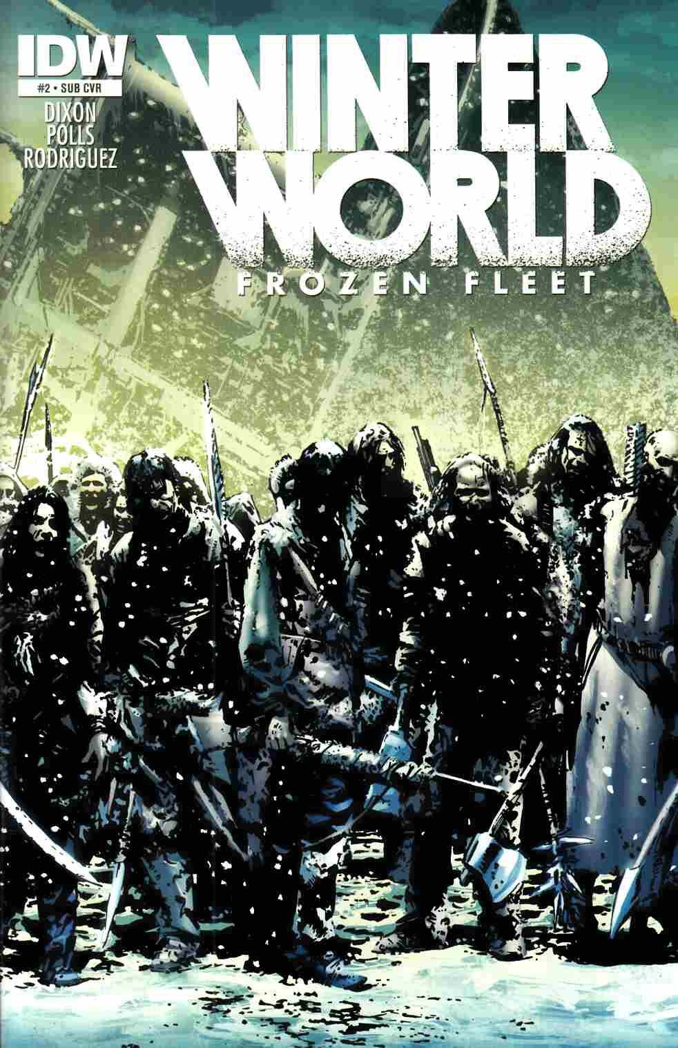 Winterworld Frozen Fleet #2 Subscription Cover [IDW Comic] THUMBNAIL