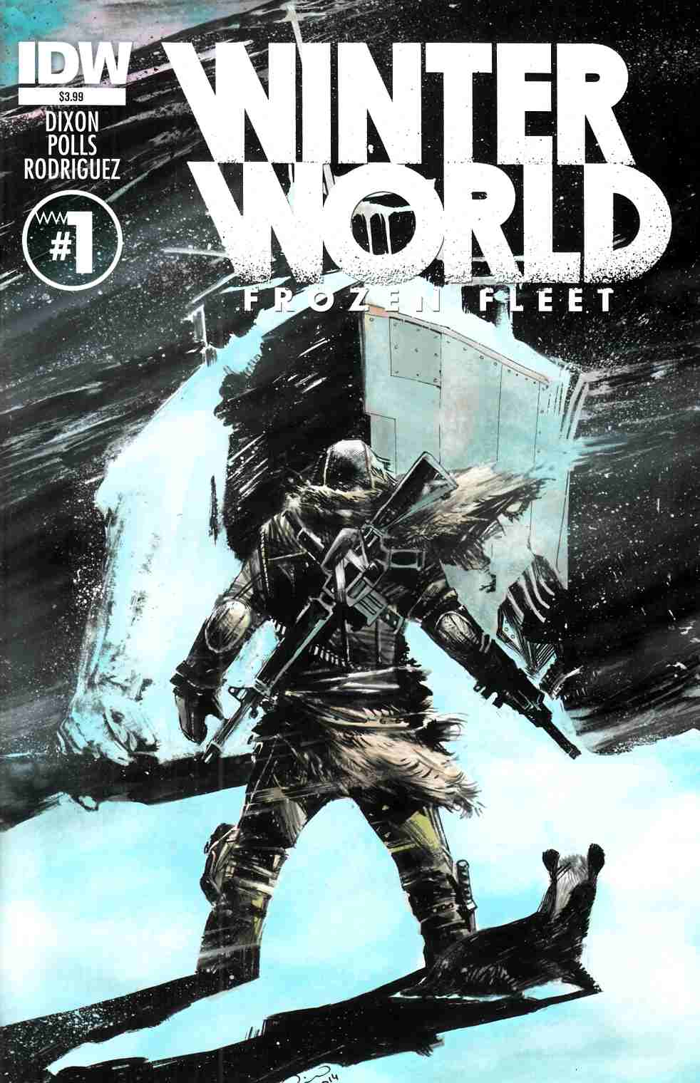 Winterworld Frozen Fleet #1 [IDW Comic] THUMBNAIL