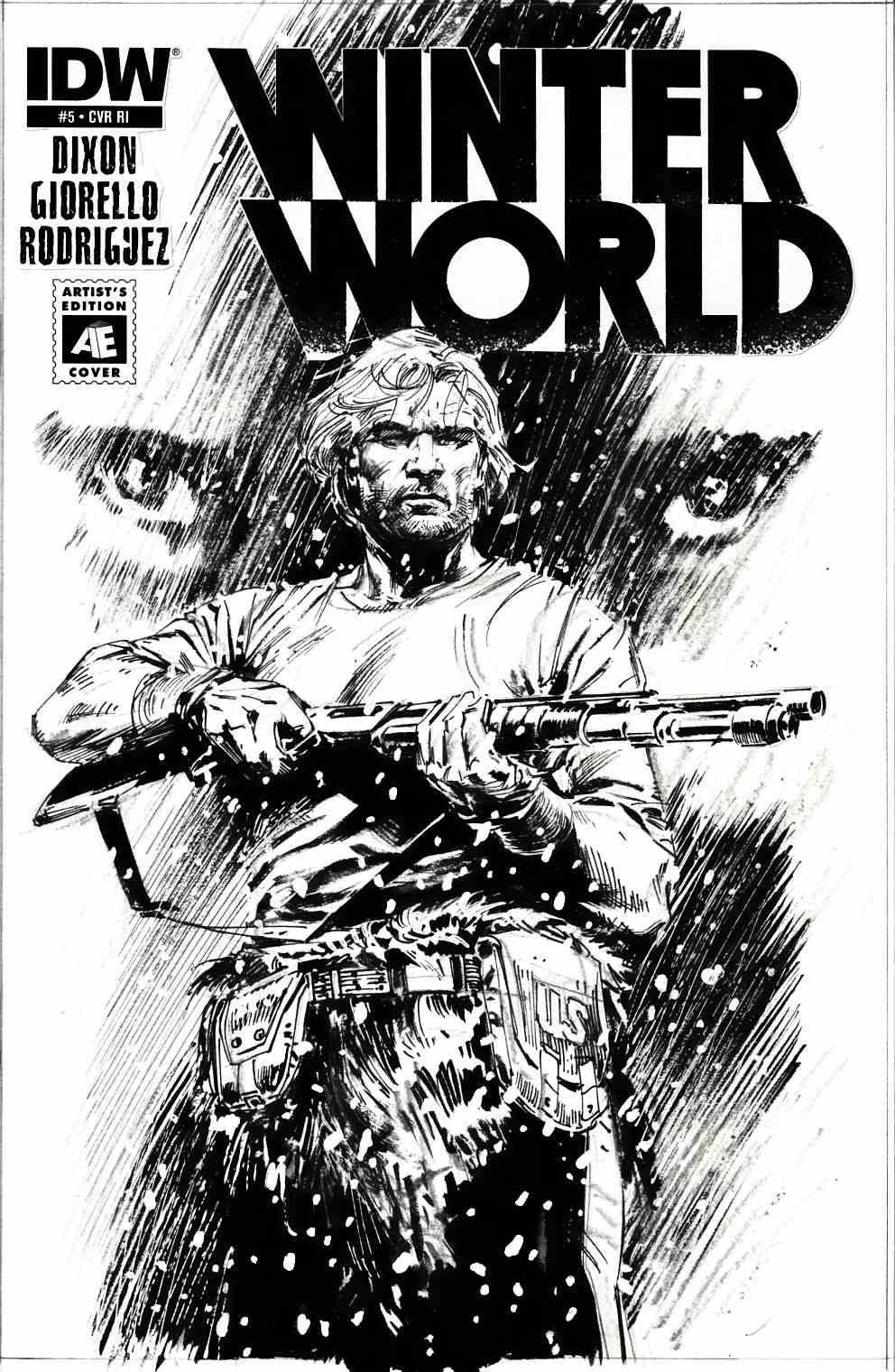 Winterworld #5 Cover RI [IDW Comic] THUMBNAIL