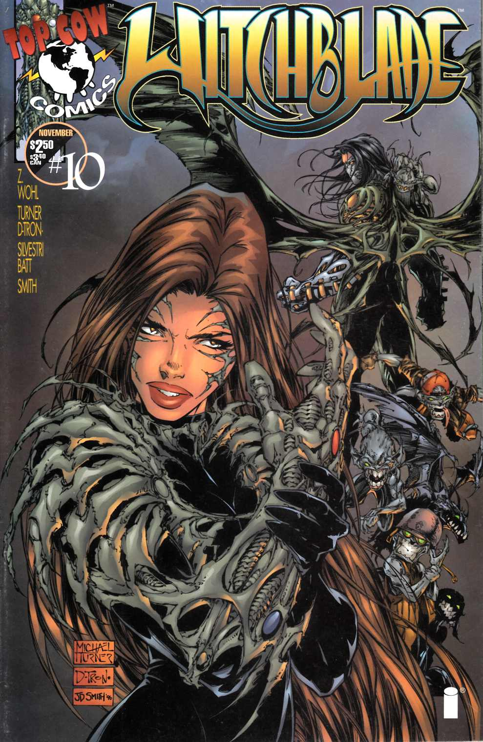 Witchblade #10 Cover A Near Mint Minus (9.2) [Image Comic] THUMBNAIL