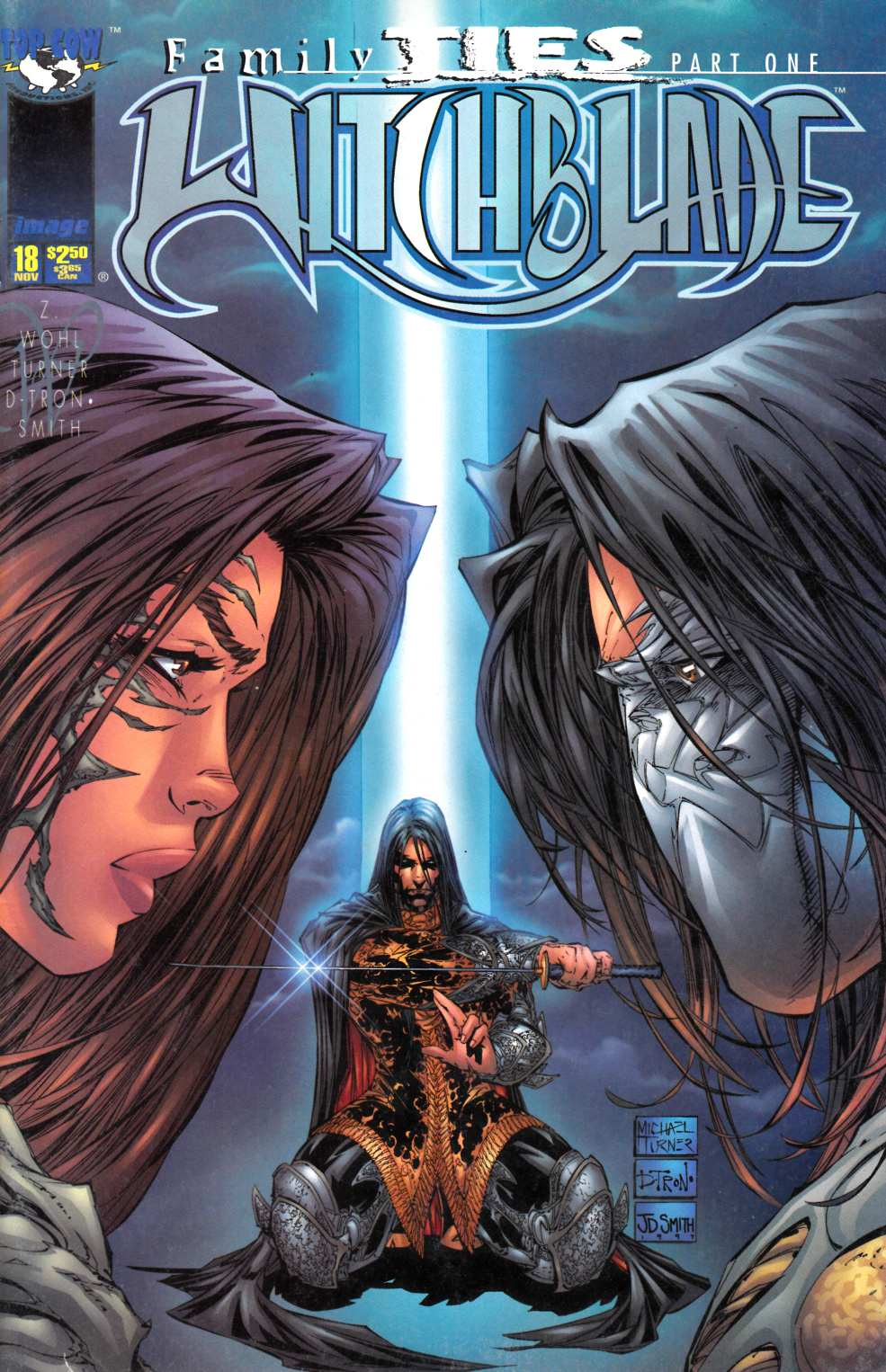 Witchblade #18 Cover B Fine (6.0) [Image Comic] LARGE