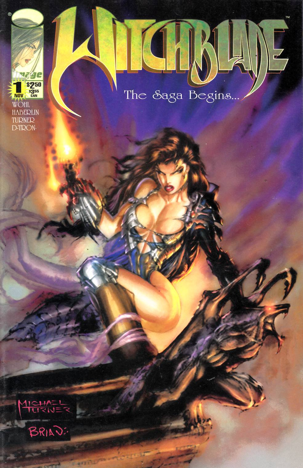 Witchblade #1 Very Fine (8.0) [Image Comic] THUMBNAIL