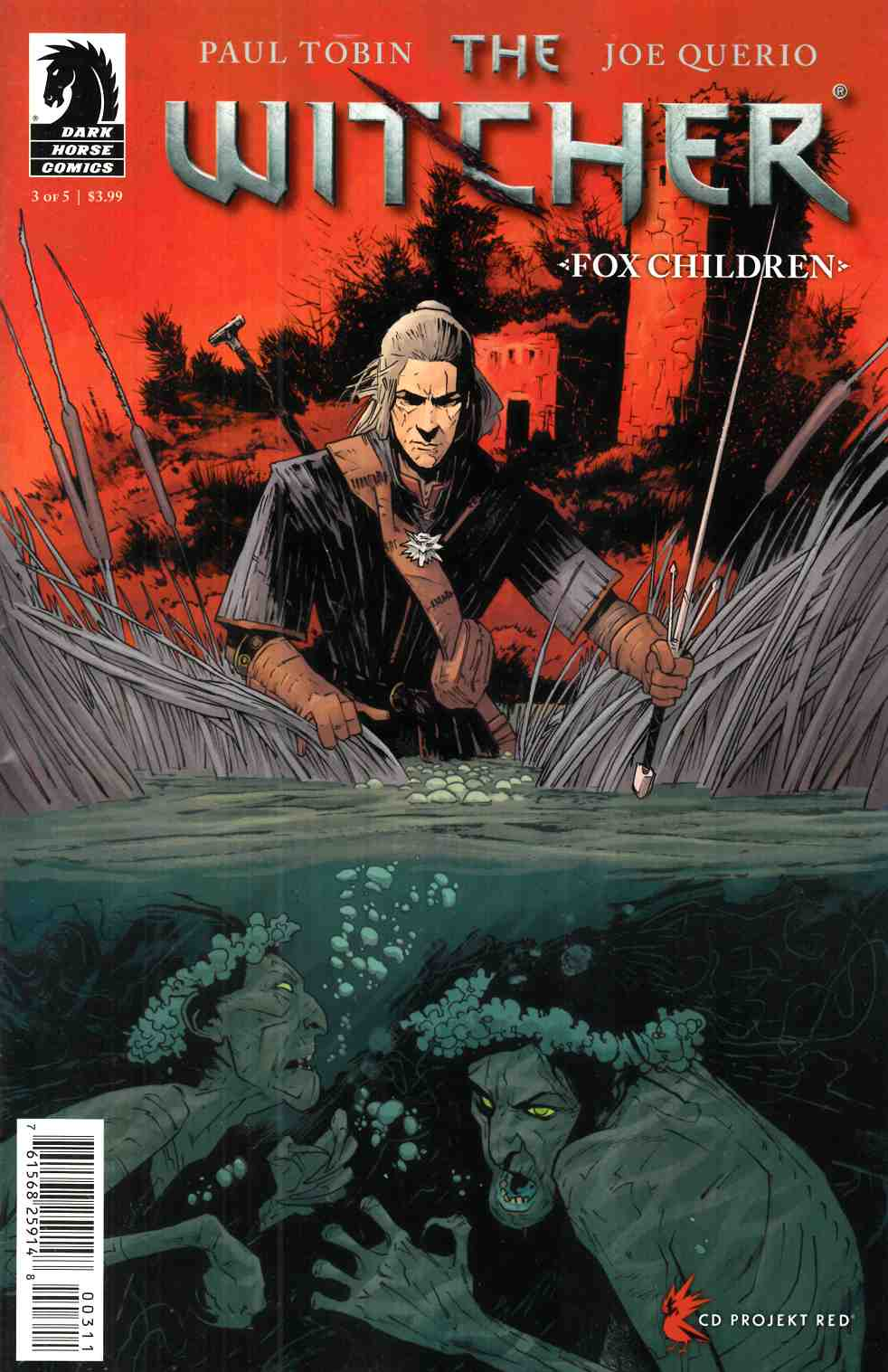 Witcher Fox Children #3 [Dark Horse Comic]