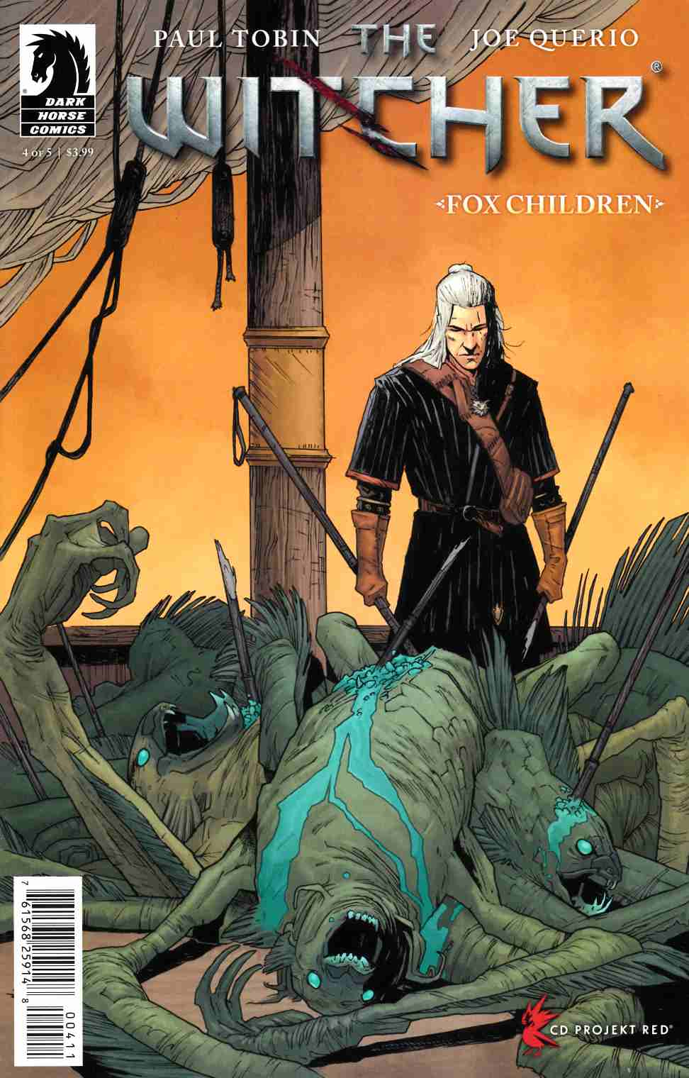 Witcher Fox Children #4 [Dark Horse Comic]
