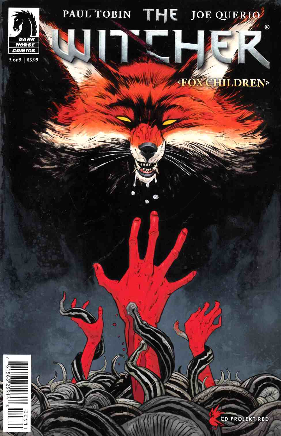 Witcher Fox Children #5 [Dark Horse Comic]