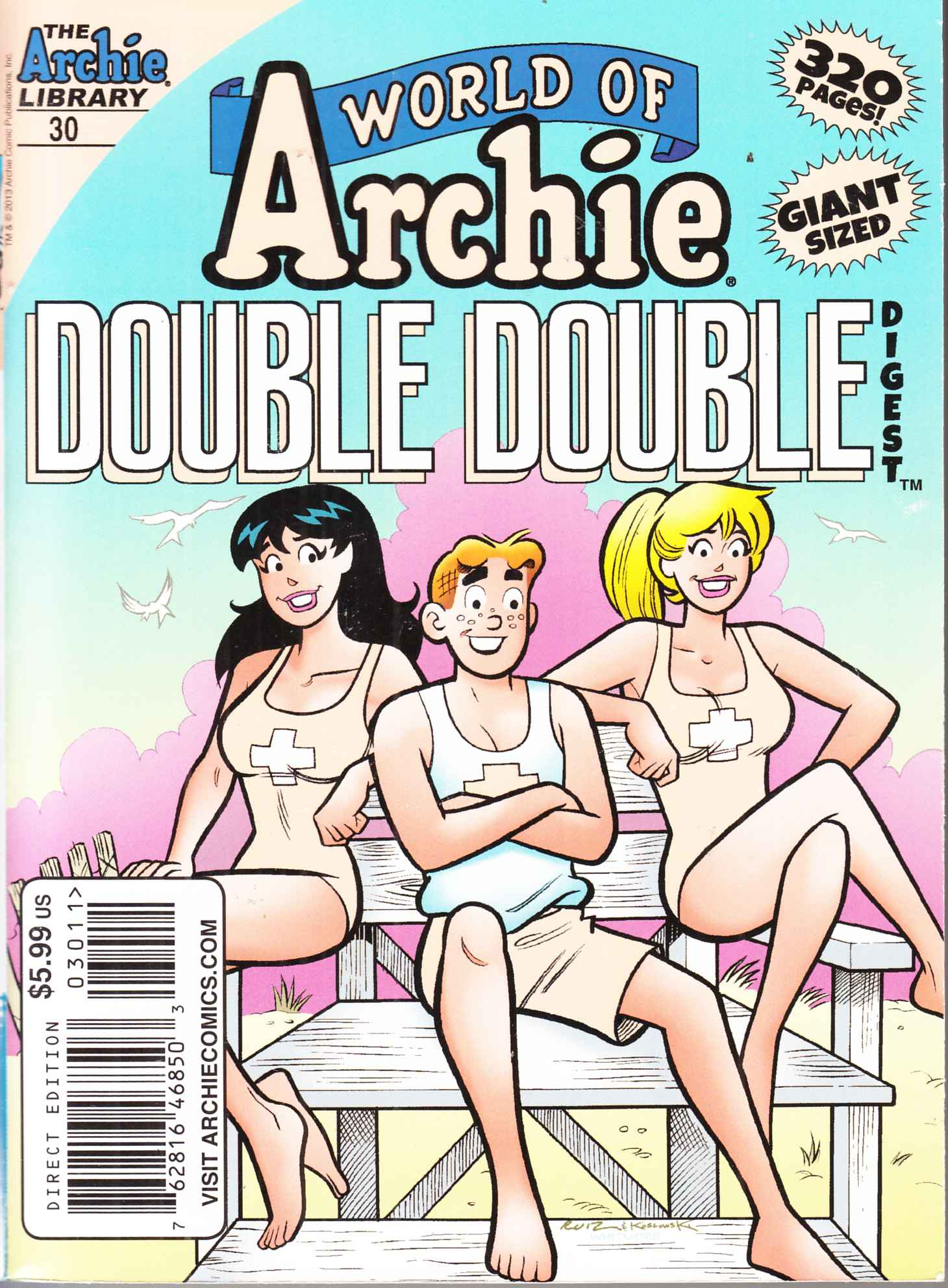 World of Archie Double Digest #30 Near Mint (9.4) [Archie Comic] THUMBNAIL