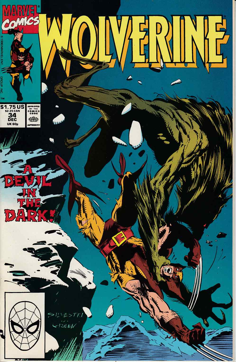 Wolverine #34 Near Mint (9.4) [Marvel Comic] LARGE