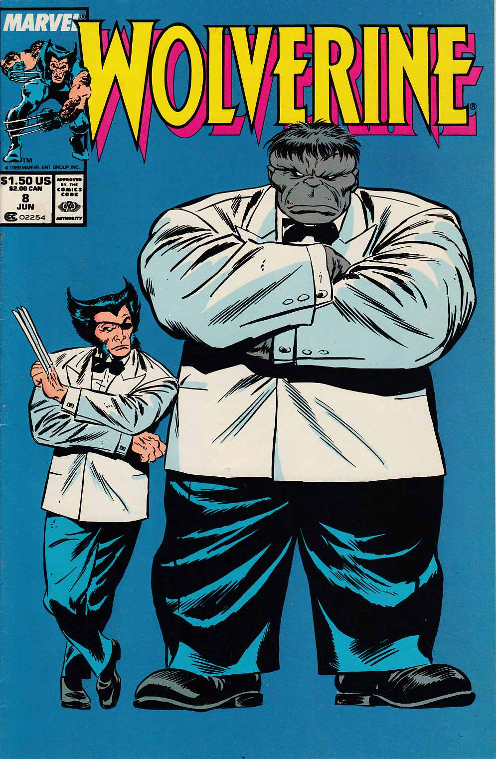 Wolverine #8 Very Fine Plus (8.5) [Marvel Comic] THUMBNAIL