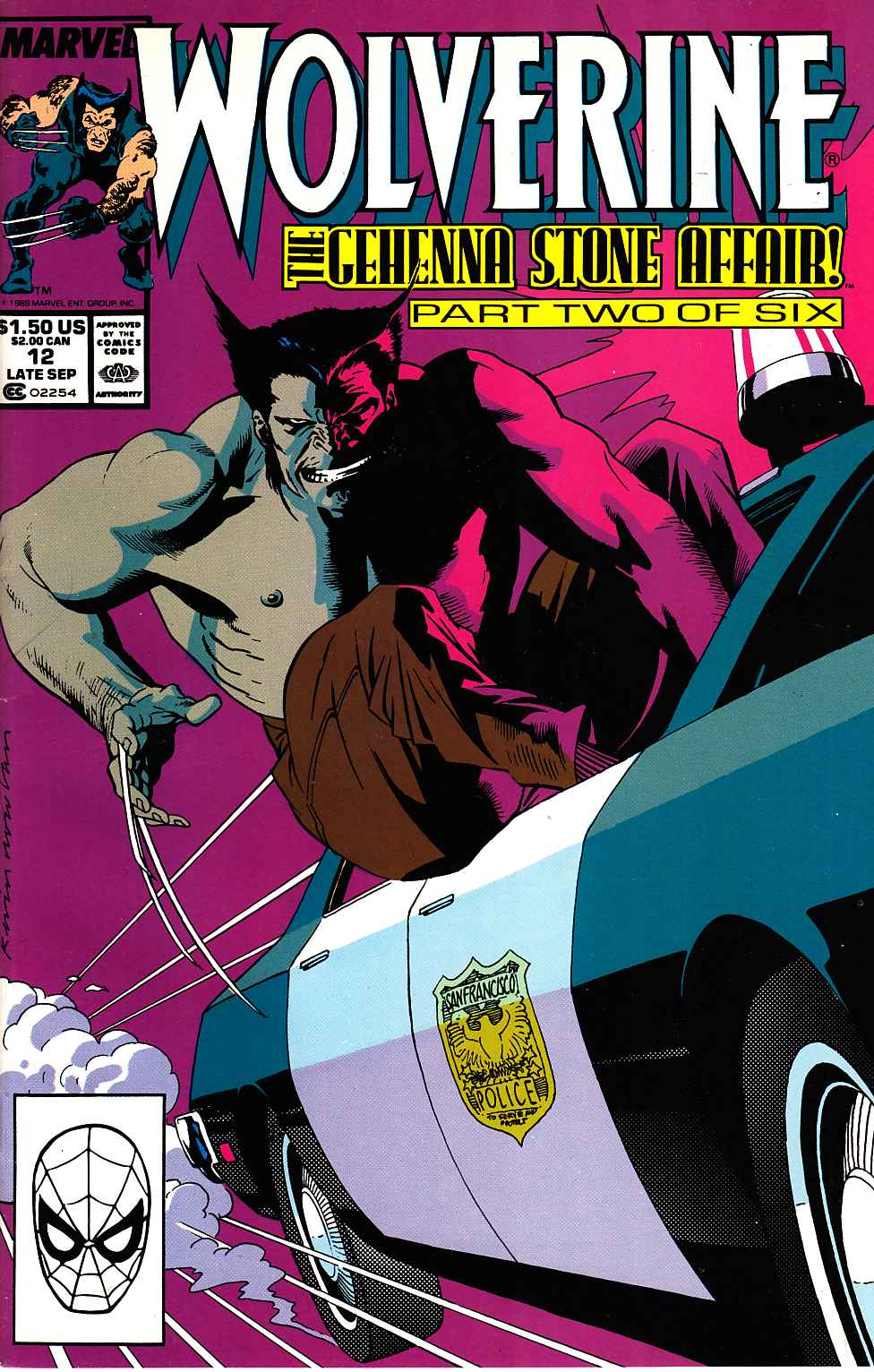 Wolverine #12 Near Mint (9.4) [Marvel Comic]_THUMBNAIL
