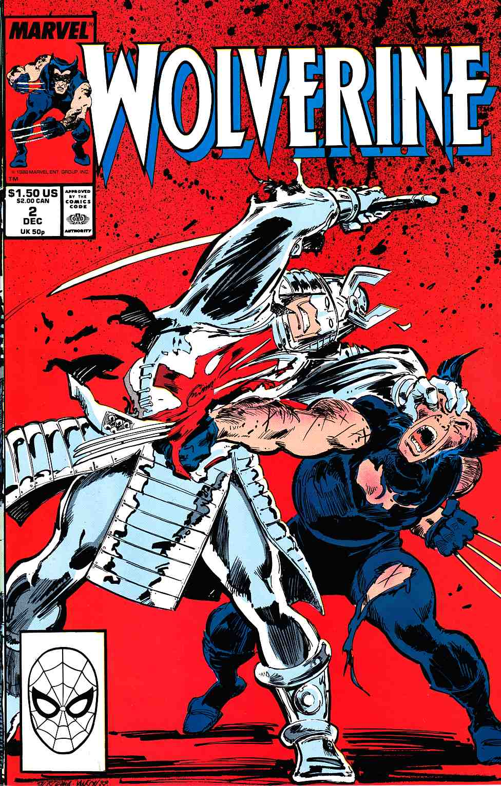 Wolverine #2 Near Mint (9.4) [Marvel Comic] THUMBNAIL