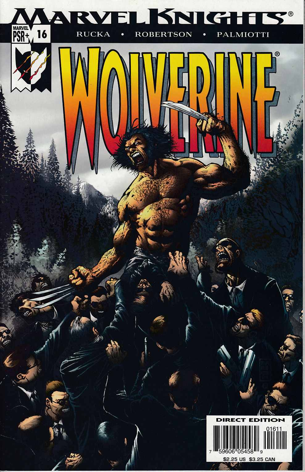 Wolverine #16 Very Fine (8.0) [Marvel Comic] THUMBNAIL