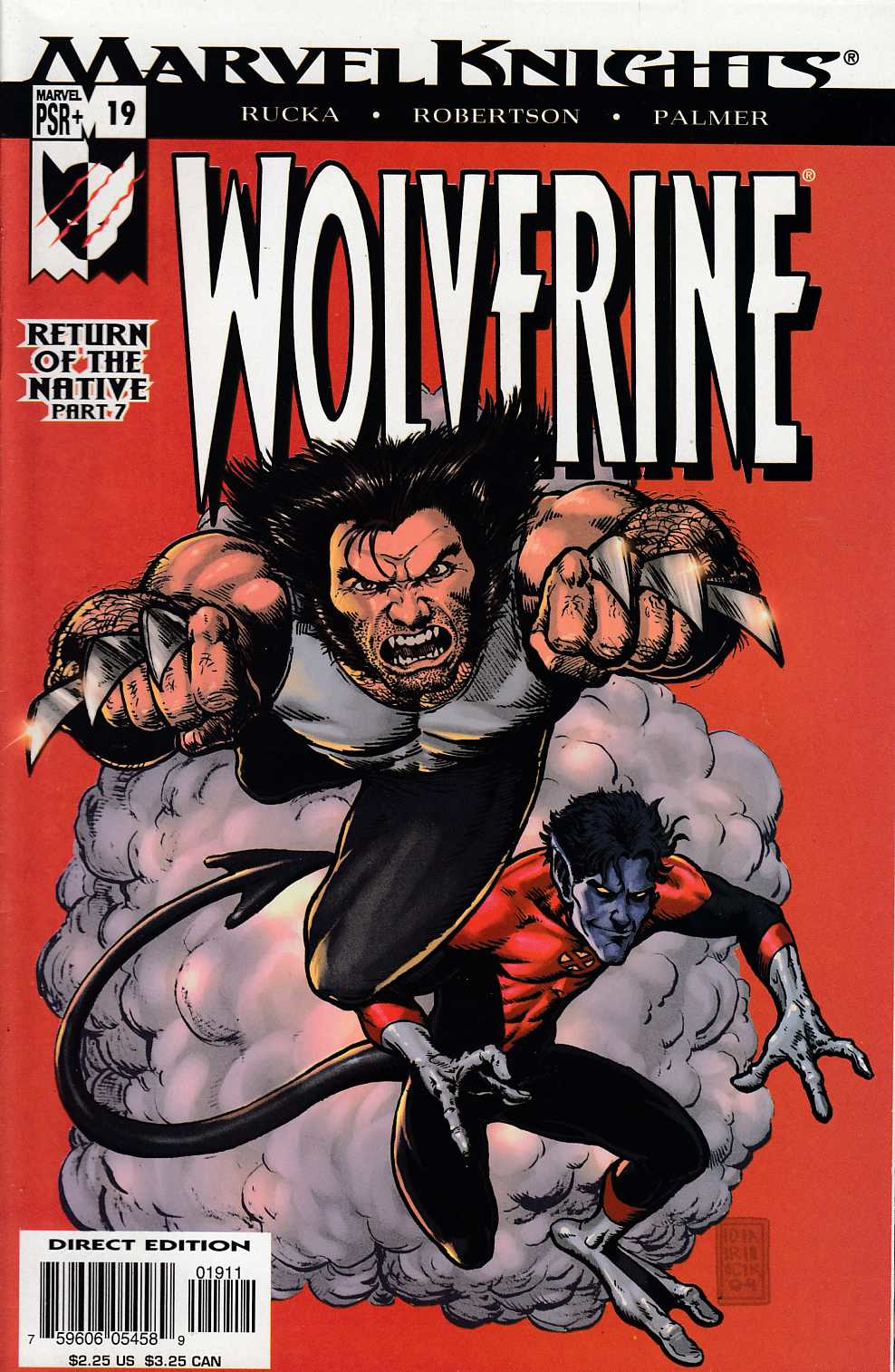 Wolverine #19 Very Fine (8.0) [Marvel Comic] LARGE