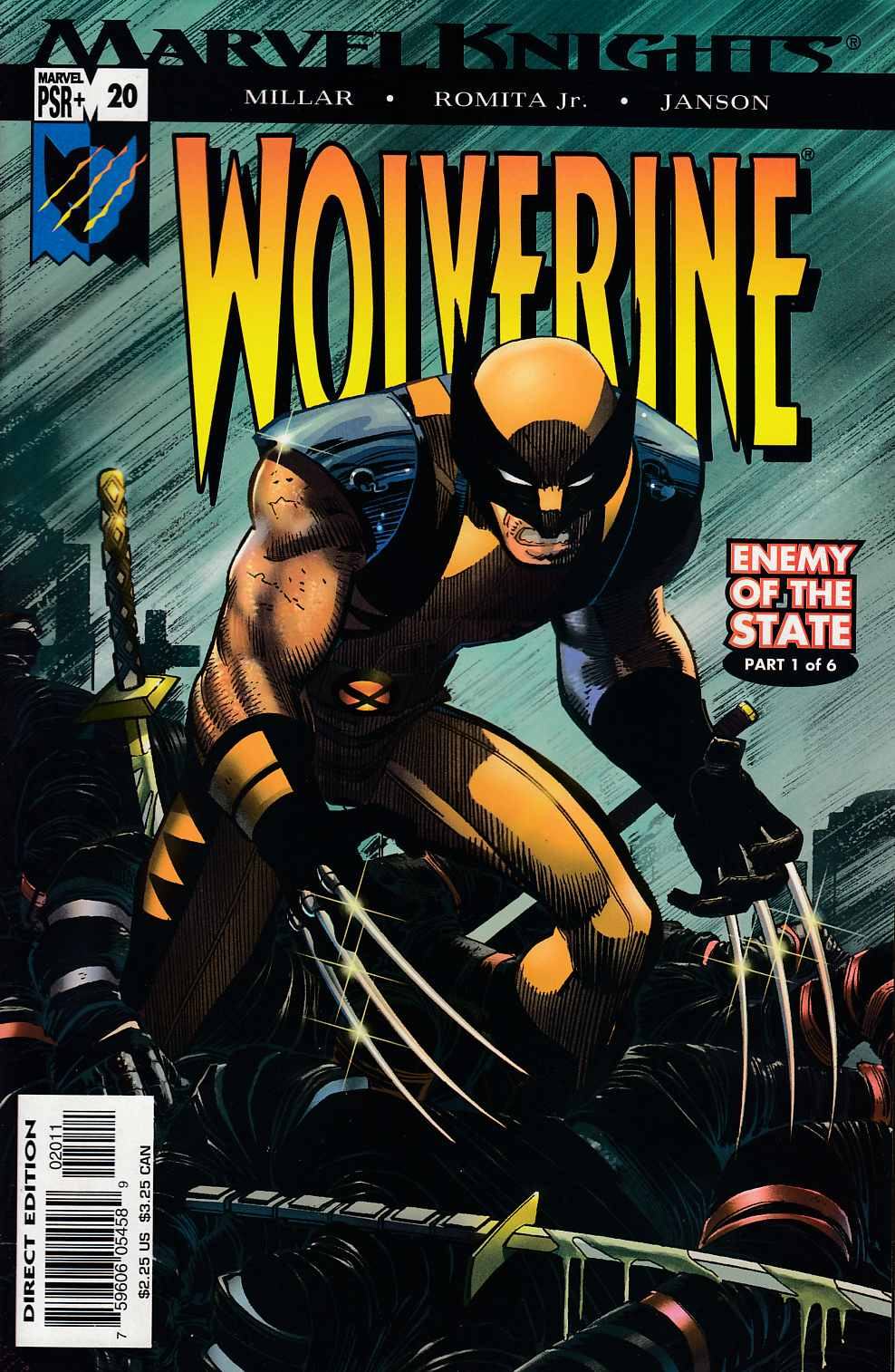 Wolverine #20 Near Mint (9.4) [Marvel Comic] THUMBNAIL