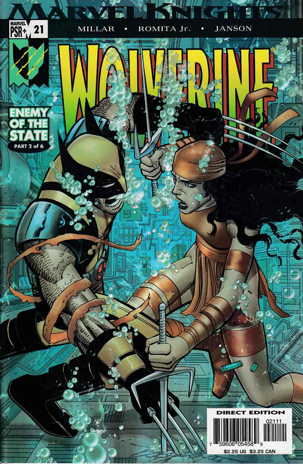 Wolverine #21 Near Mint (9.4) [Marvel Comic] THUMBNAIL