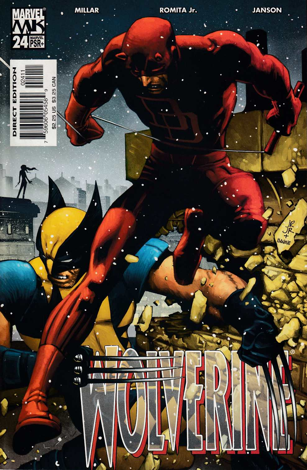 Wolverine #24 Near Mint (9.4) [Marvel Comic] THUMBNAIL