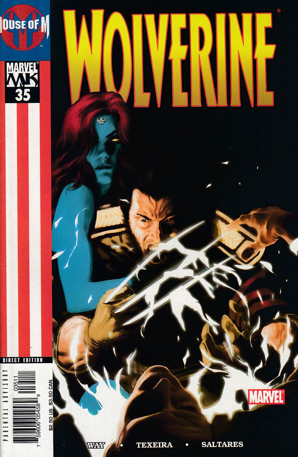 Wolverine #35 Near Mint (9.4) [Marvel Comic] LARGE
