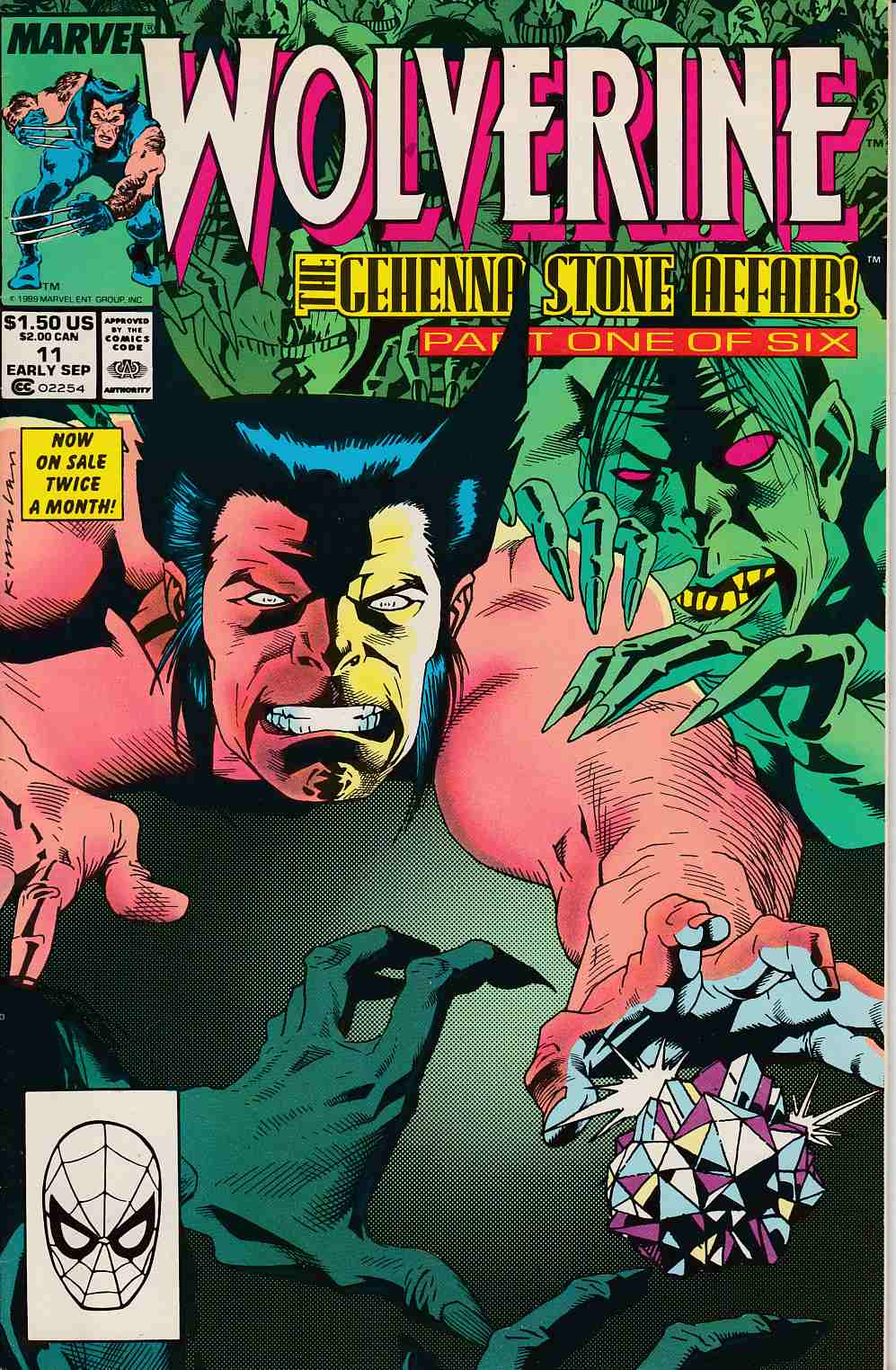 Wolverine #11 Very Fine (8.0) [Marvel Comic]_THUMBNAIL