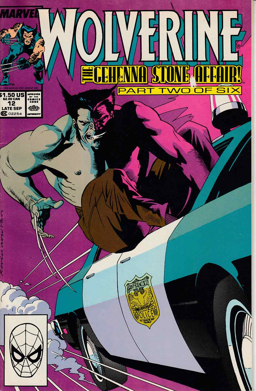 Wolverine #12 Very Good (4.0) [Marvel Comic]_THUMBNAIL