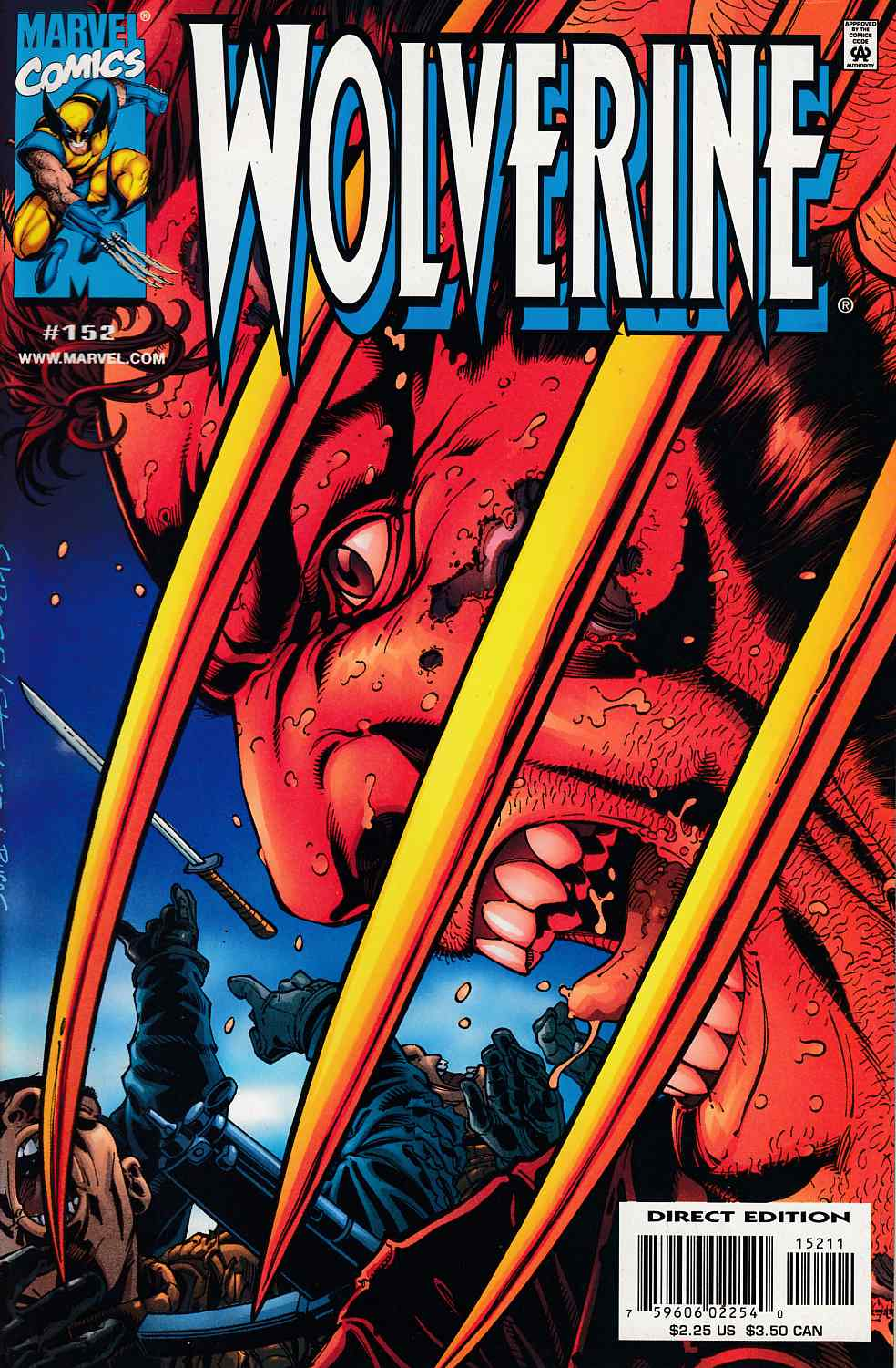 Wolverine #152 Near Mint (9.4) [Marvel Comic] LARGE