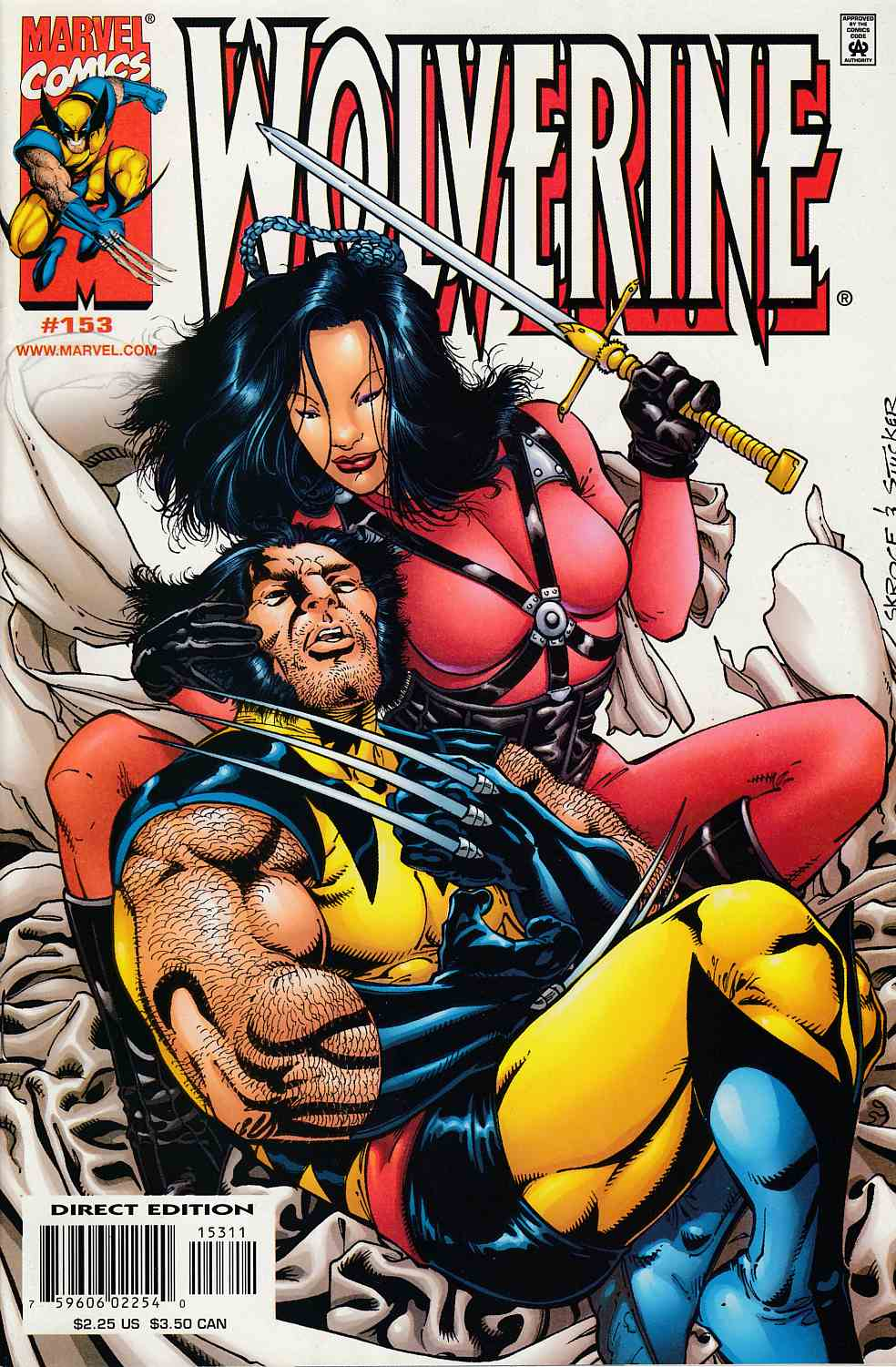 Wolverine #153 Near Mint (9.4) [Marvel Comic] LARGE