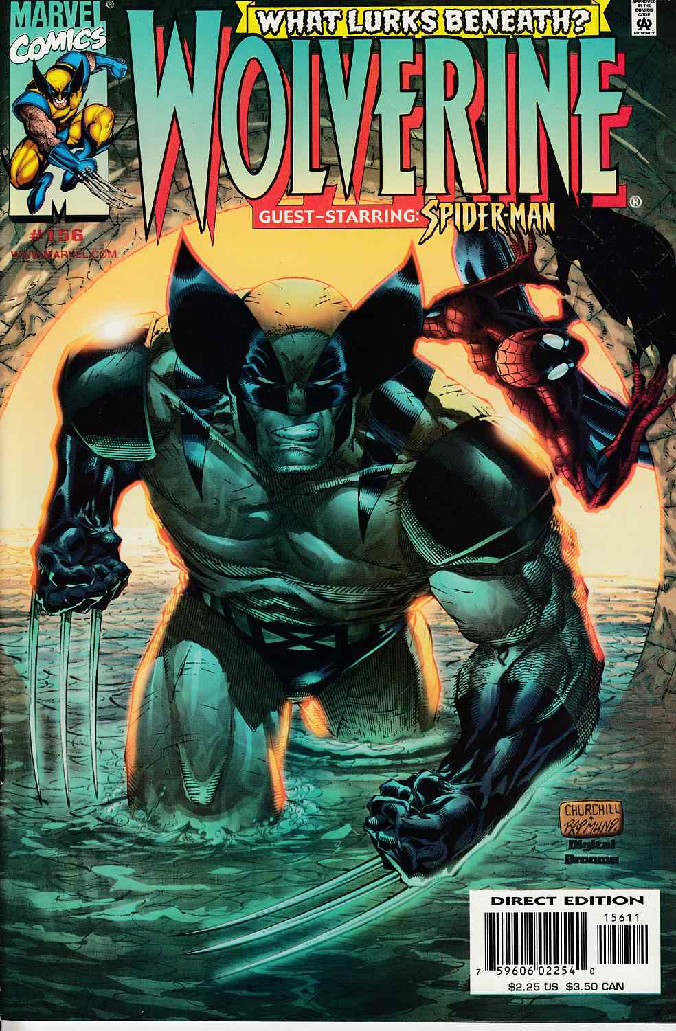 Wolverine #156 Near Mint (9.4) [Marvel Comic] LARGE