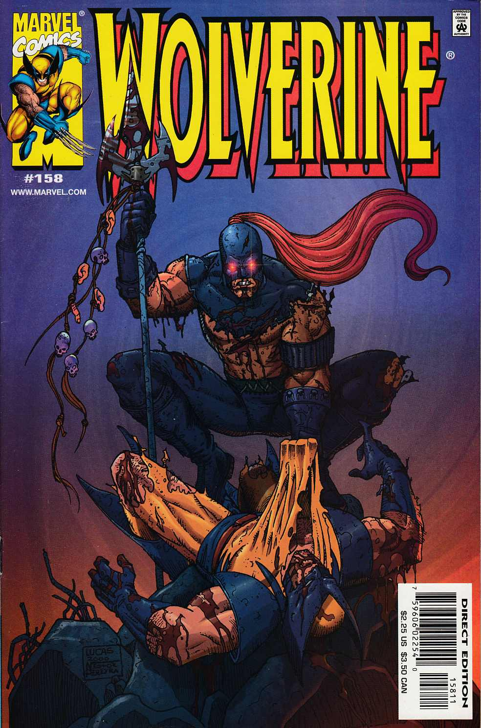 Wolverine #158 Near Mint (9.4) [Marvel Comic] LARGE