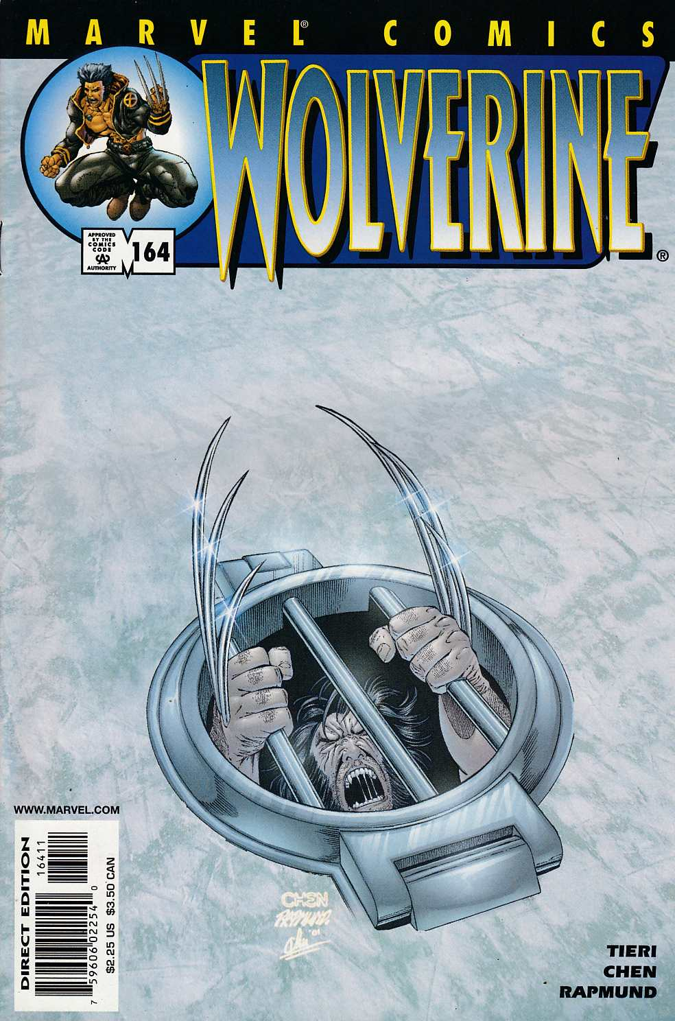 Wolverine #164 Very Fine (8.0) [Marvel Comic] LARGE