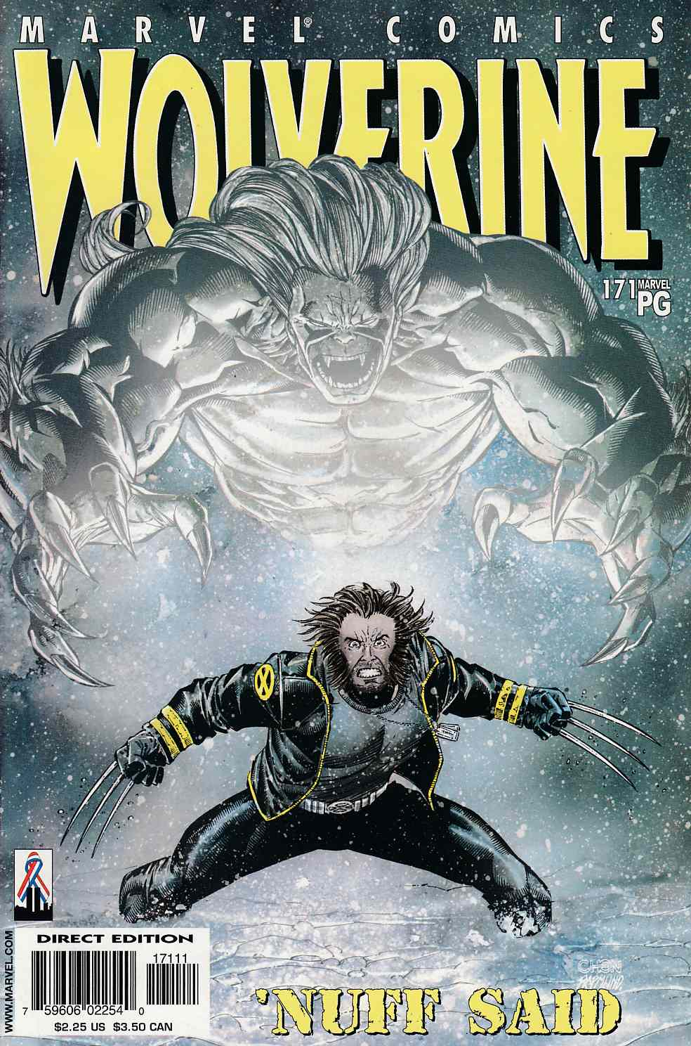 Wolverine #171 Near Mint (9.4) [Marvel Comic] LARGE