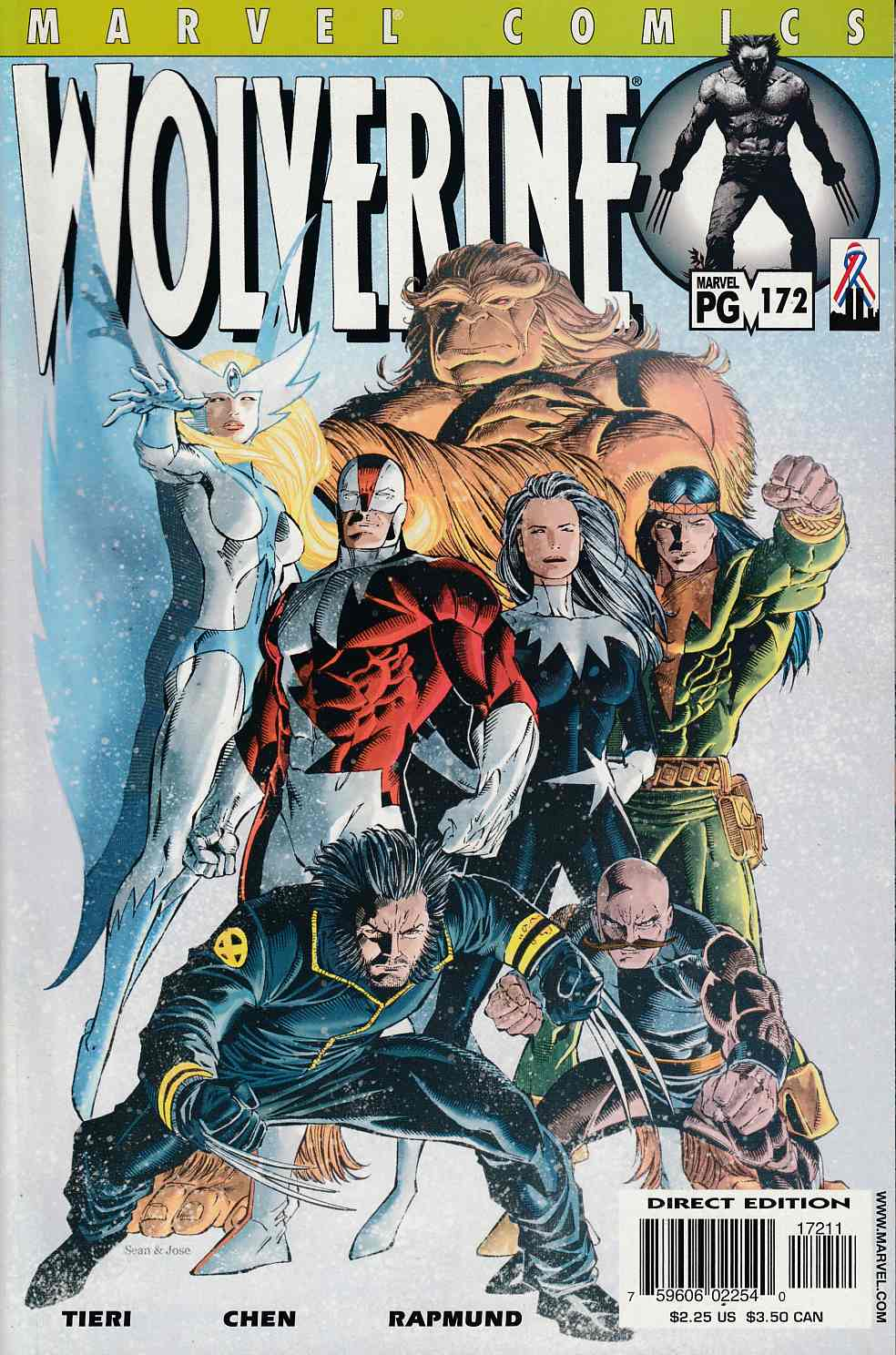 Wolverine #172 Near Mint (9.4) [Marvel Comic] LARGE