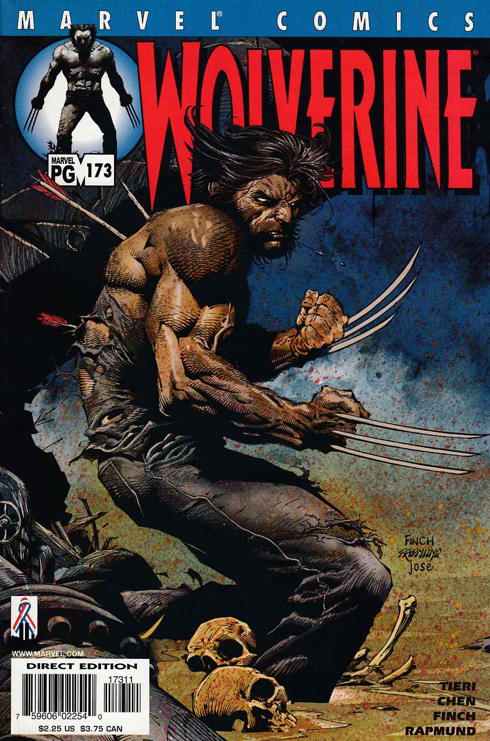 Wolverine #173 Near Mint (9.4) [Marvel Comic] LARGE