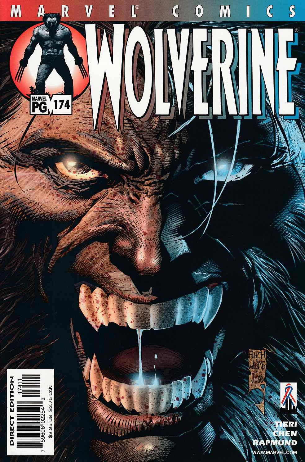 Wolverine #174 Near Mint (9.4) [Marvel Comic] LARGE